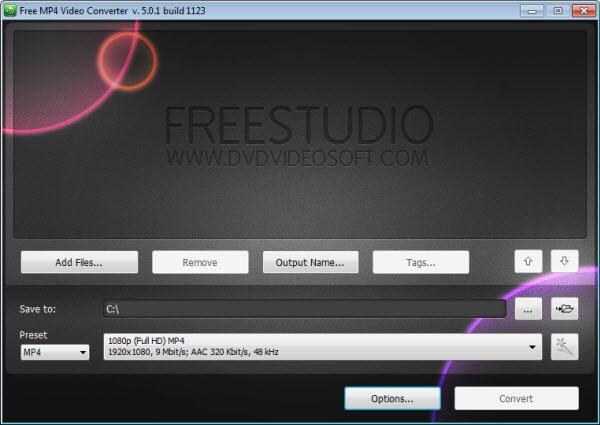 Kostenlose FLV zu MP4 Converter: DVDVideosoft