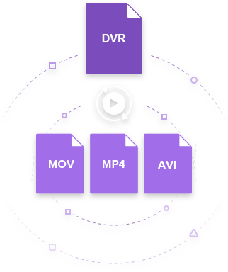 How to Convert DVR to MP4, AVI, DVD Easily on Windows/Mac