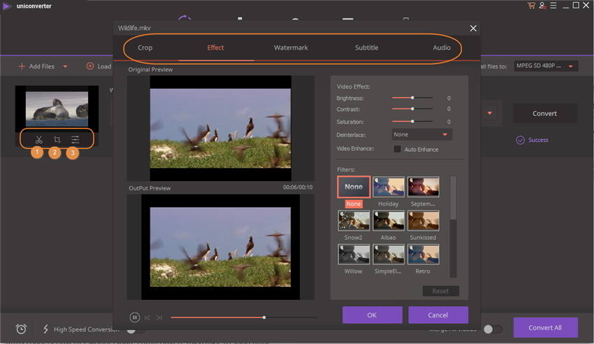 edit mkv video - edit videos