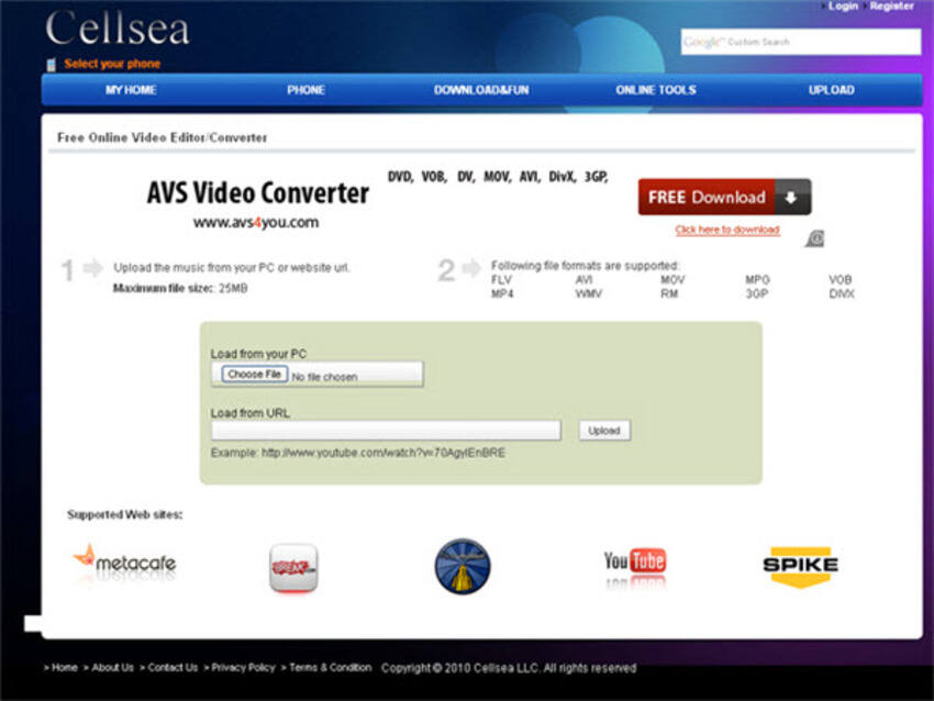 Free YouTube to MP4 Converter Cellsea