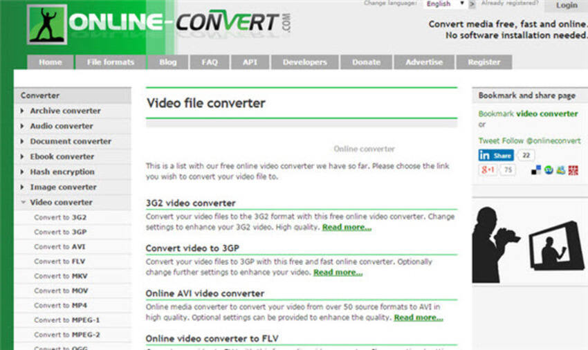 Recommended Online Converters to Convert SWF to MP4 Online