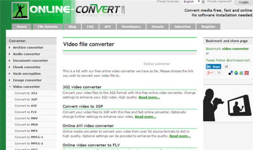 Online SWF to MP4 converter Convertio