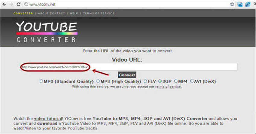 Online YouTube zu MP4 Konverter YouTube Converter