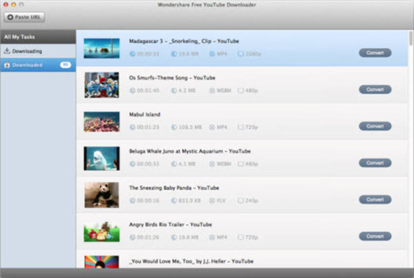 Convertitori da YouTube a MP4 per Mac