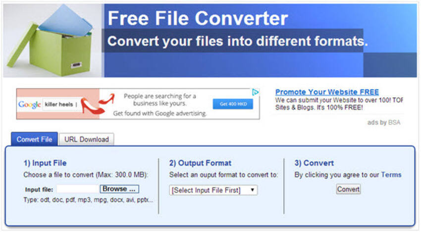 Convertitore Gratuito da YouTube a MP4 - Free File Converter