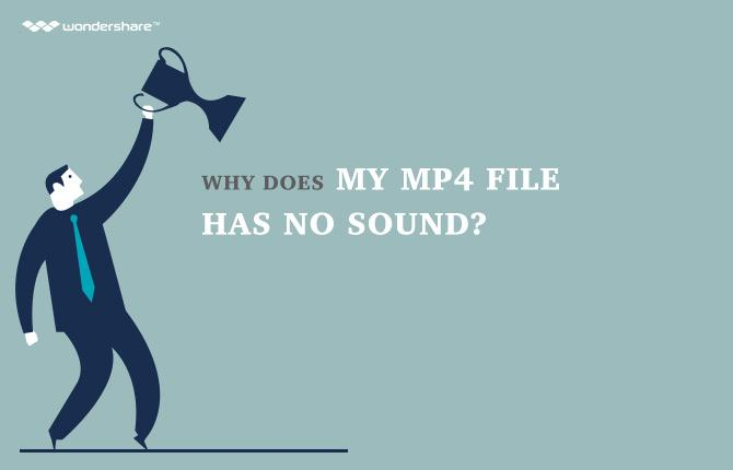 mp4 no sound
