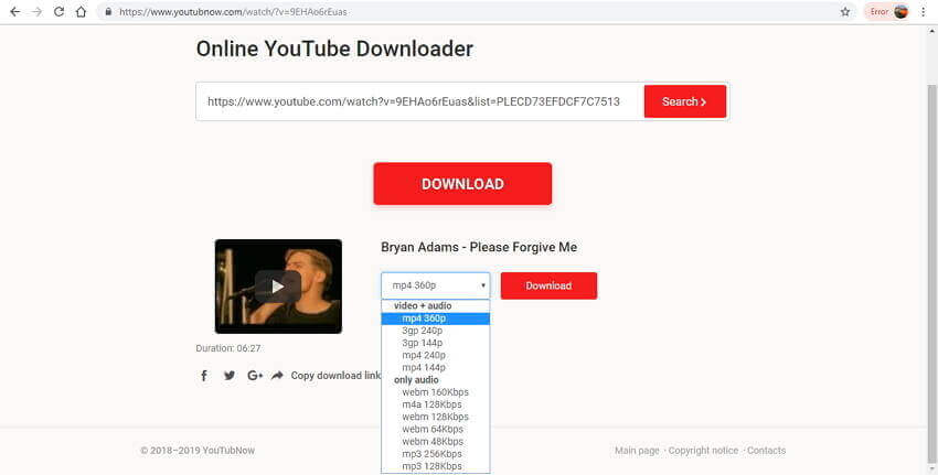 Top 8 YouTube Playlist Downloader Online/Android/PC/Mac