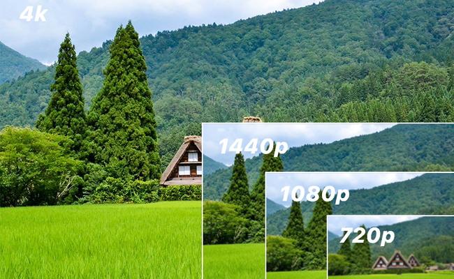 4K vs 1080p