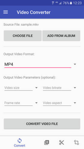 Android Video Converter App: Video Converter 1.8