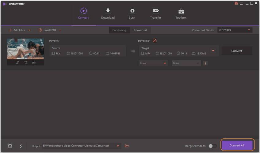 FLV videos konvertieren