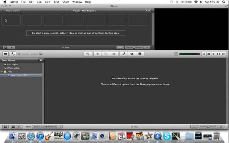 MP3 zu Video mit iMovie konvertieren -1