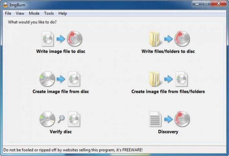 DVD Converter ImgBurn