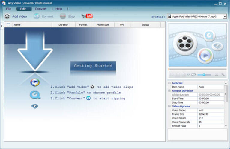 FLV video converter - any video converter