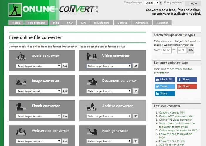 Online video converter - online-convert.com