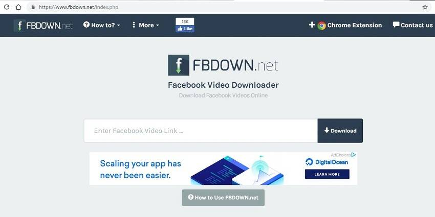 online facebook video converter 2