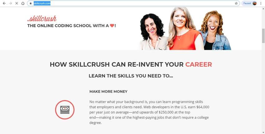 coding learning sites - Skillcrush