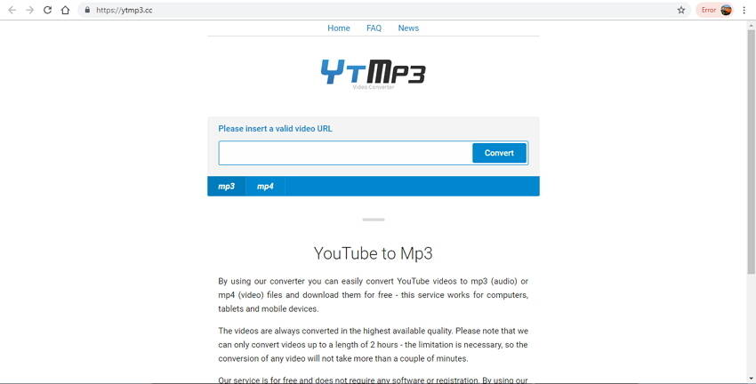 top 10 online video converter to MP3 - 10