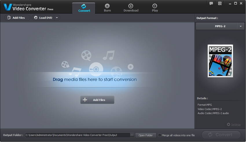 Wondershare Video Converter Gratuito