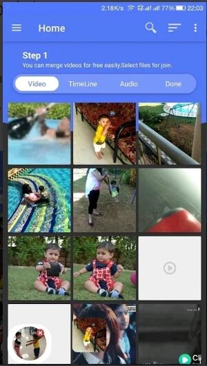 video merger app - video joiner