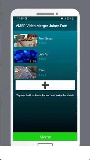 video merger app - vmer