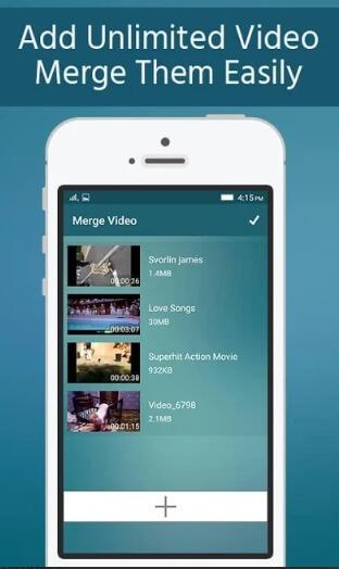video merger app - unlimited video merger joiner