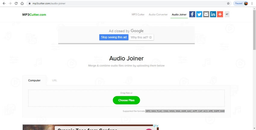 audio joiner mp3cutter