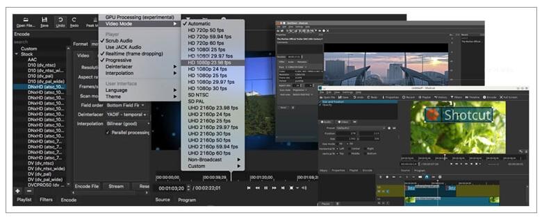 video merger shotcut