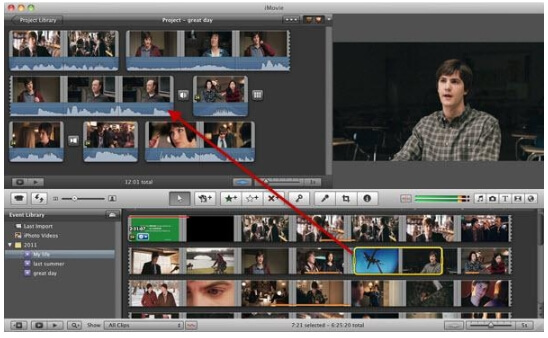 video merger - imovie