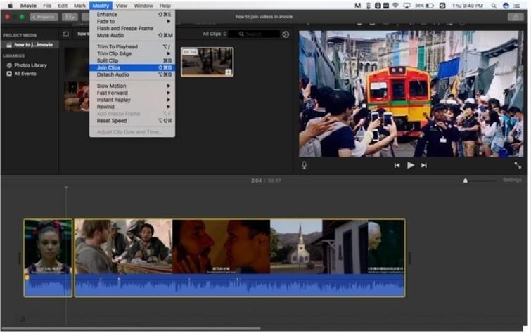 free video merger - imovie