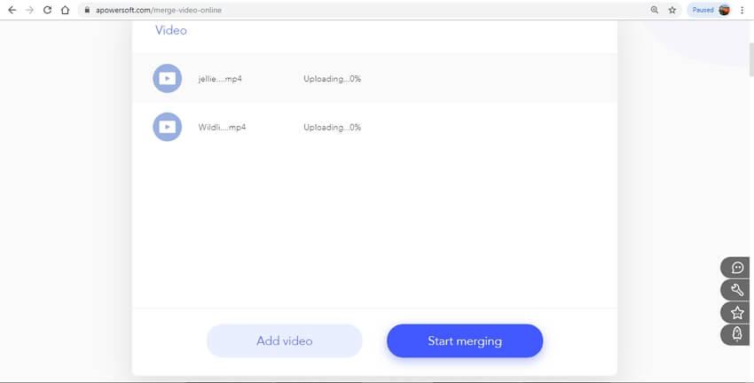 Merge MP4 Online - APowersoft