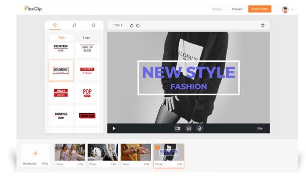 Merge MP4 Online - FlexClip