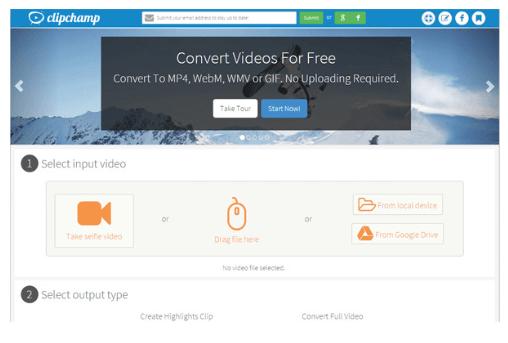 audio und video online zusammenführen - Clipchamp