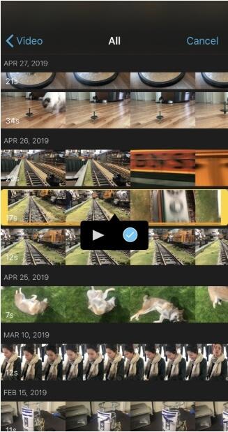 merge videos in imovie iphone