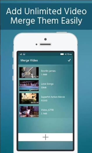 merge videos android - Unlimited Video Merger Joiner