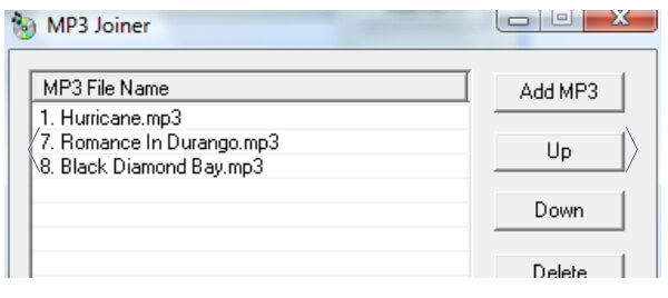 mp3 joiner windows 7