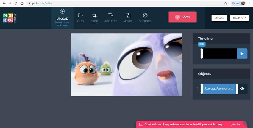online video merger - Pixiko