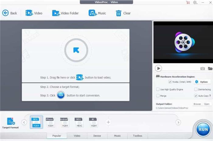 videoProc video converter