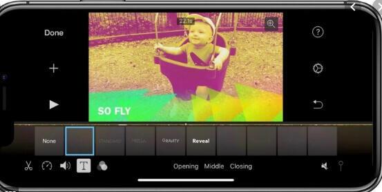 audio fusion app - iMovie