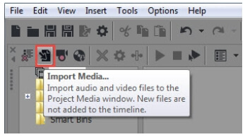 merge video clips with sony vegas step1