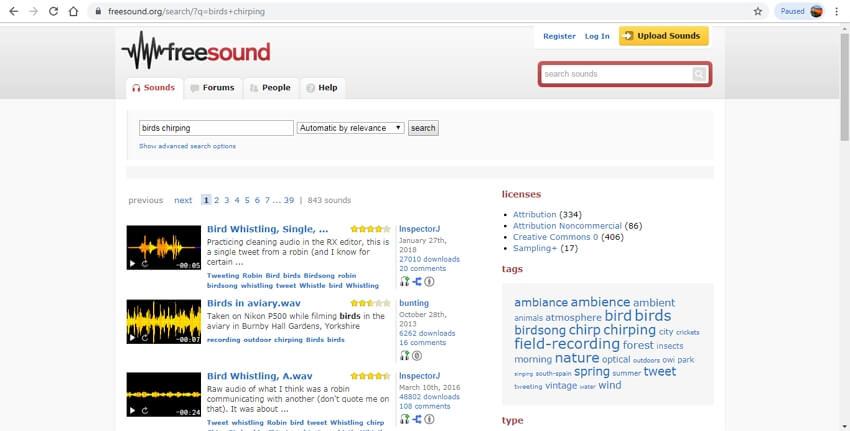 10 sound effects sites - Freesound
