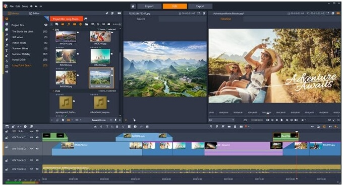 video editors for beginners - Pinnacle