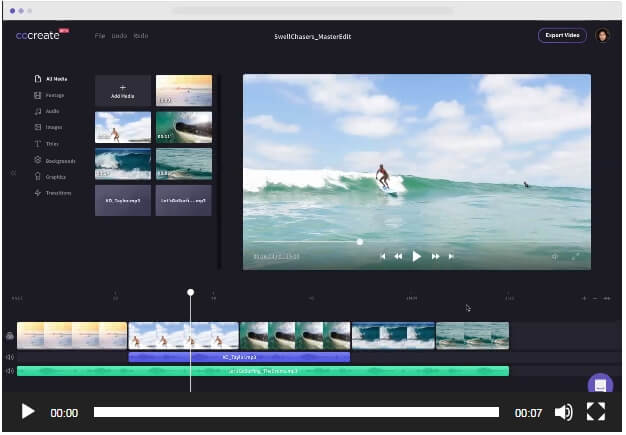 video editors for beginners - Clipchamp