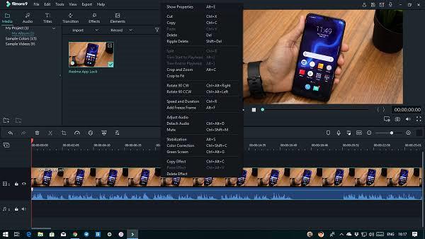 filmora9 video editor