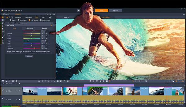 pinnacle studio video editor
