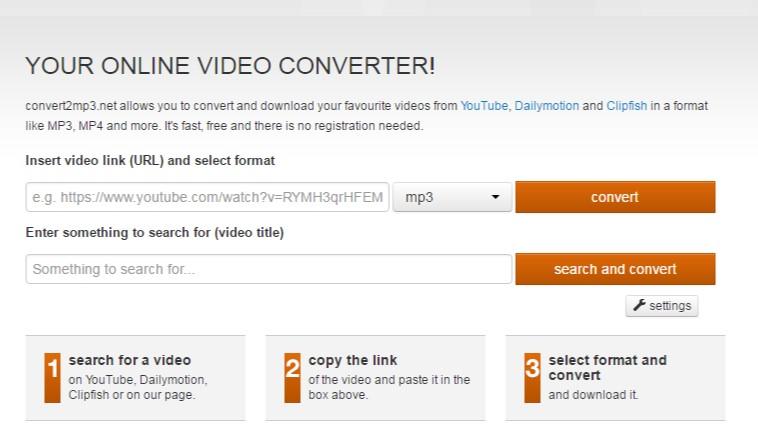 vimeo zu mp3 Online-Konverter