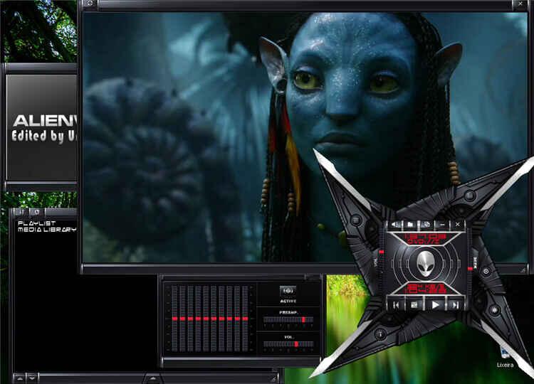 piel vlc-alienware darkstar