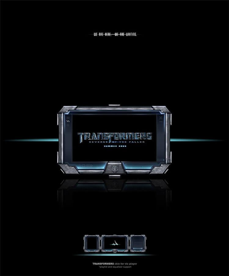 vlc skin-transformers