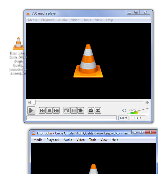 play iso with vlc