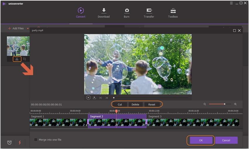 trim videos using VLC alternative