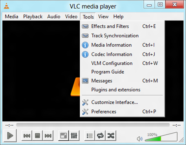 make vlc the default player
